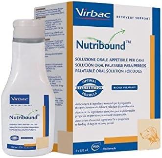 Virbac Nutribound para perro – Solución oral para la recuperación funcional en recuperación del perro