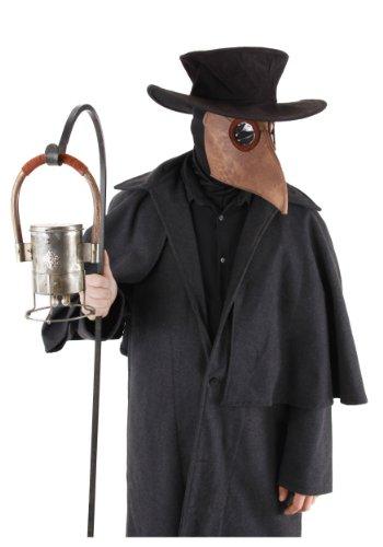 (Bubonic Plague Doctor Costume : Mask Hat)