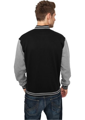 negro Classics universitario gris Sudadera de Urban estilo qpdXPXw
