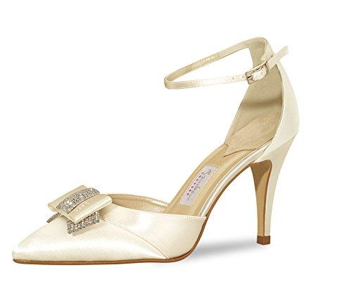 Scarpe Donna Rainbow Tacco Couture Col 26 Bianco Avorio CCrgn