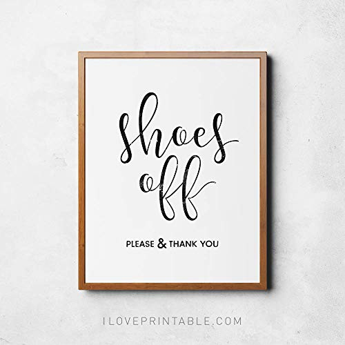 Dozili Shoes Off Sign Printable Poster Take Shoes Off Please Remove Shoes Sign Entry Room Art Take Off Your Shoes (Please Take Off Your Shoes Sign Printable)