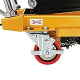 Manual Double Scissor Hydraulic Lift Table Cart