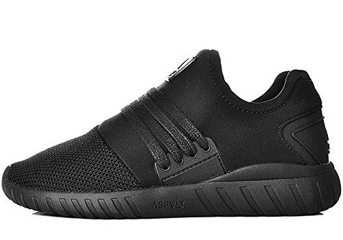 Zapatillas de Deporte para Mujer Asfvlt - Zapatillas de Material Sintético para hombre negro negro K-SWISS Receiver III Carpet Zapatilla de Tenis Caballero NA9cs