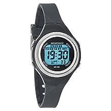 Sportech Unisex | Grey Thin Band Water Resistant Swim Sport Watch | SP10715