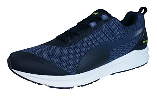 Puma Ignite XT Mens Running Sneakers / Shoes-Black-10