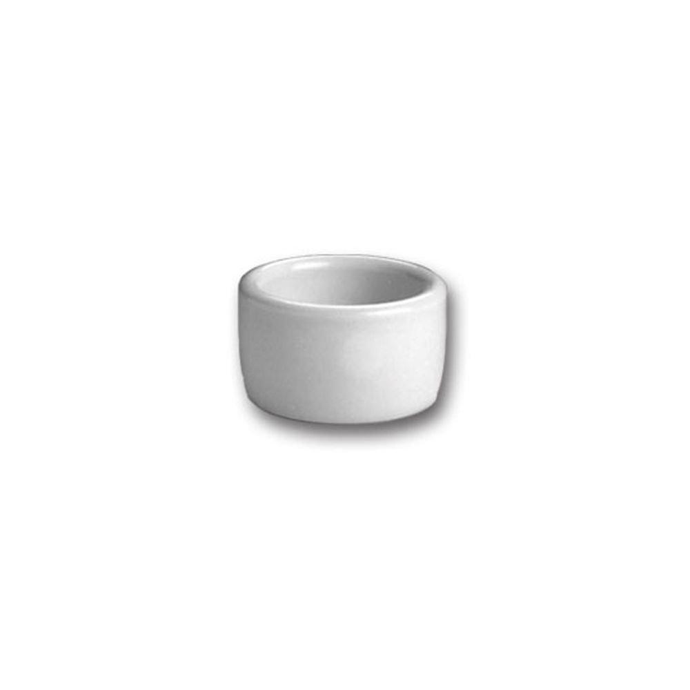 Hall China 915-WH White 2 Oz. Round Ramekin / Cheese Pipkin - 36 / CS