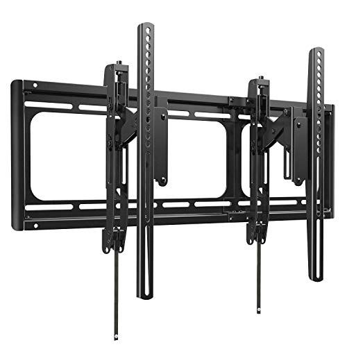 Advanced Tilt TV Wall Mount Bracket with Full Tilting Extension Function for Most 37-90 Inch OLED LCD LED Curved Flat TVs, Fit 16-24 Inch Wood Stud, Max VESA 600x400mm by Pipishell (Best Tilting Tv Wall Mount)