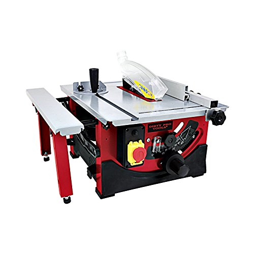 Dirty Pro ToolsTM Table Saw 8' Blade with Sliding Side Extension 240v