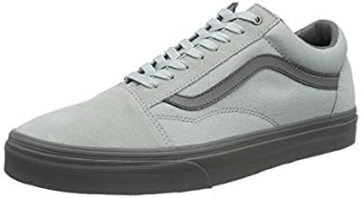 Vans Unisex Old Skool (C&D) High-Rise/Pewter Skate Shoe 13 Men US
