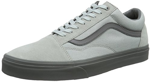 0094f3c9bf37fb Galleon - Vans Unisex Old Skool (C D) High-Rise Pewter Skate Shoe 10 Men  US 11.5 Women US