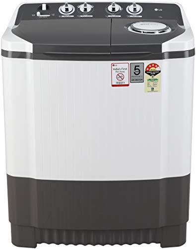LG 7 Kg Semi-Automatic Top Loading Washing Machine (P7020NGAY, Dark Grey)