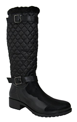 Rainy US 5 Black D M Womens 8 Top 10 Moda Boots 47HxqvSw