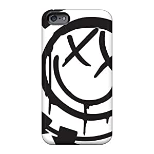 Shock Absorption Hard Cell-phone Case For Iphone 6 With Customized Vivid Blink 182 Band Skin AlissaDubois