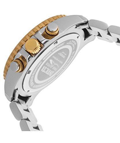 Invicta Men's 'Pro Diver' Quartz Stainless Steel Casual Watch, Color Two Tone (Model: 24002)