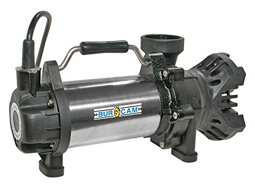 Burcam-300910-Submersible-Waterfall-Pump-115V-Continuous-Duty-12-hp