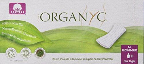 Organyc 100% органического хлопка Прокладки квартира, 72 граф
