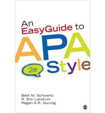 An EasyGuide to APA Style (Spiral bound) - Common PDF