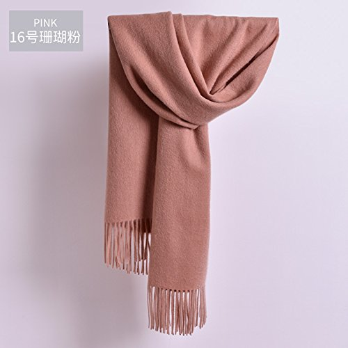 daafb81e9dd Amazon.com  FLYRCX Men s Wool Scarf Madam Winter Cashmere Thickening Warm  Fashion Cape Shawl Scarf 210cmx70cm