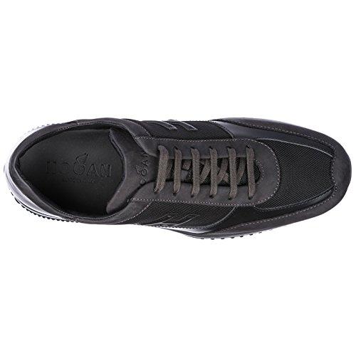 Suministro De Espacio Libre Aberdeen Hogan Scarpe Sneakers Uomo in Pelle Nuove Interactive Nero Realmente Barato Barato Libre Del Envío Venta Gran Venta duM05cRk