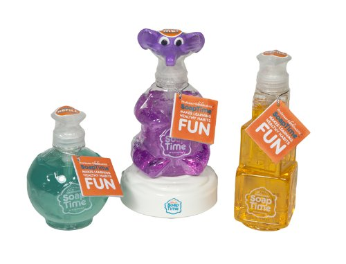 Soap Time Children's Hand Wash Learning (Time Soap)