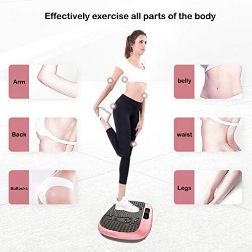 Xinqinghao 3D Full Body Vibration Platform Body Shaker Flat Platform Massager Fitness Platform Home Gym Office Training Equipment Power Board for Weight Loss, Wellness & Toning, 99 Levels 9