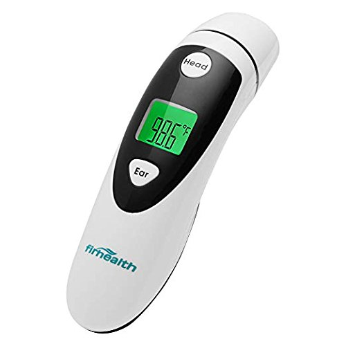 onepix Baby Ear and Forehead Thermometer - Upgraded Infrared Lens for Better Accuracy, Digital Medical Fever Thermometer for Infants, Toddlers, Kids, Adults - FDA Approved