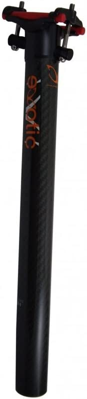 eXotic Carbon Matrix II Seatpost 27.2mm Diameter 250mm Long with CrMo Bolts