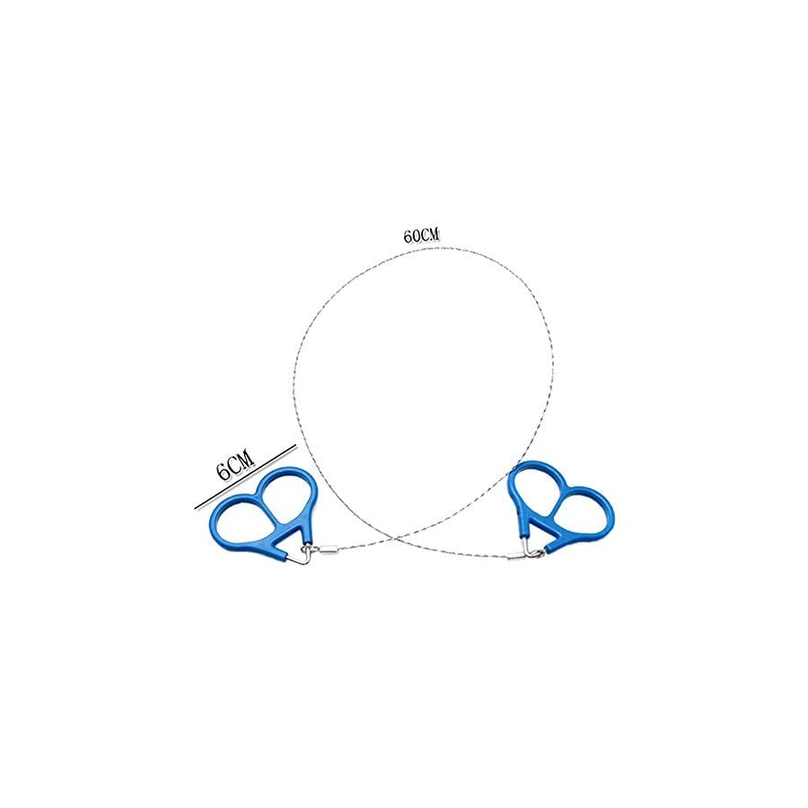 SciencePurchase Mini Stainless Steel Wire Saw Emergency Camping Hunting Survival Tool Chain
