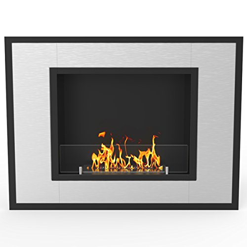 Cheap Regal Flame Austin 32 Inch Ventless Built In Recessed Bio Ethanol Wall Mounted Fireplace Black Friday & Cyber Monday 2019