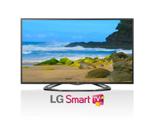 LG Electronics 60LA6200 60-Inch Cinema 3D 1080p 120Hz LED-LCD HDTV with Smart (Cinema 3d Smart Tv)