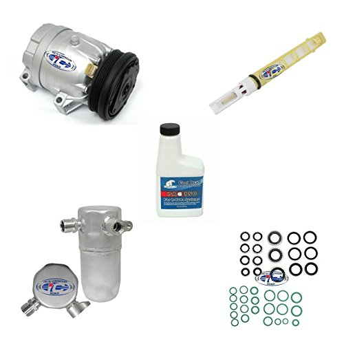 A/C Remanufactured Compressor Kit Fits Chevrolet Malibu 1997-1999 Oldsmobile Alero 1999-2001 L4 2.4L 57991 ()