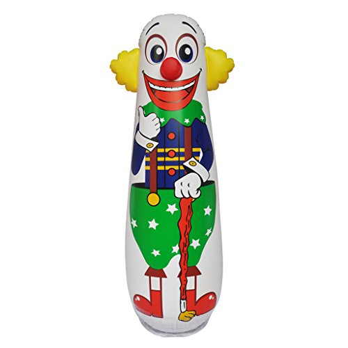 Water Weighted Inflatable Clown Punching