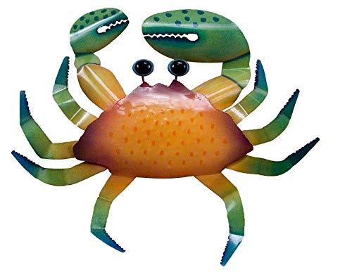 T.I. Design Orange Crab Wall Art One Size