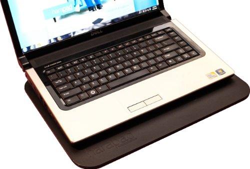 "HARApad EMF Protection - Laptop Radiation & Heat Shield (For 13"" Laptops, Black Acrylic)"