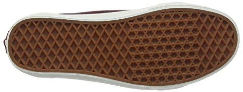 VansOld Skool - Zapatillas Unisex adulto Rojo (Varsity Suede Red Mahogany/Blanc De Blanc)