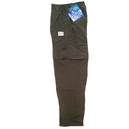 Zip Off Pants Olive - 2