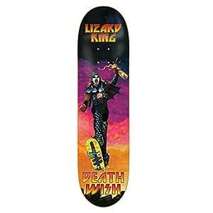 "Deathwish Lizard King Destroyed Skateboard Deck - 8.38"" x 31.75"""