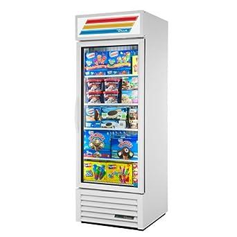 True gdm-23 F-ld puerta de cristal Merchandiser congelador – una ...