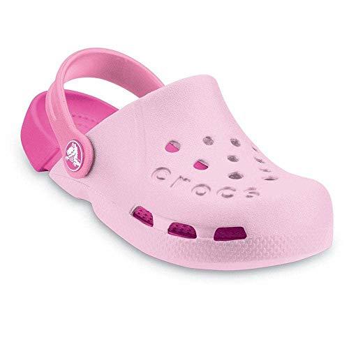 Crocs Kids Electro Shoes, Size: 7 M US Toddler, Color: Bubblegum/Fuchsia