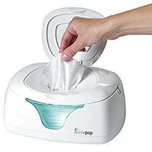 hiccapop Wipe Warmer and Baby Wet Wipes Dispenser   Holder   Case with Changing Light