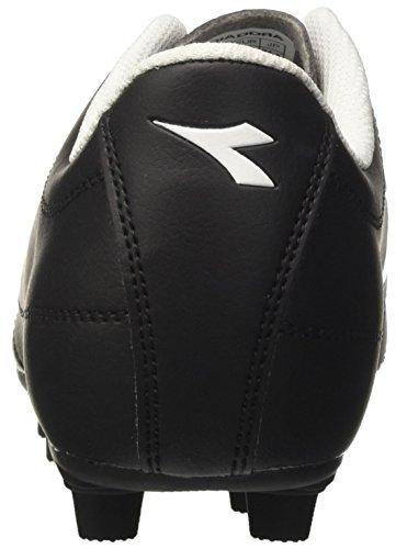 Diadora 650 Iii Mdpu, para los Zapatos de Entrenamiento de Fútbol para Hombre Negro (Nero/bianco)