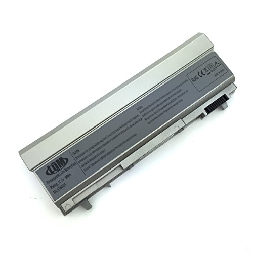 (LQM 11.1V 90Wh 9 Cell New Laptop Battery for Dell Latitude E6400 E6410 E6500 E6510 Precision M2400 M4400 M4500,fits P/N: F8TTW PT434 PT437 KY266 FU274 FU571 MN632 MP303 MP307 W1193 KY477)
