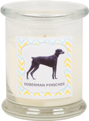 Aroma Paws Breed Candle Jar, 12-Ounce, Doberman Pinscher by Aroma Paws