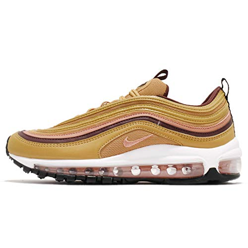 W 97 da Wheat Burgundy 001 Gold Blush Basse Terra Scarpe Max Crush Donna NIKE Ginnastica Multicolore Air 1dwxTqt1p