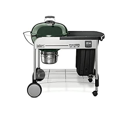 Weber 15407001 Performer Premium Charcoal Grill, 22-Inch, Green by Weber-Stephen Products LLC