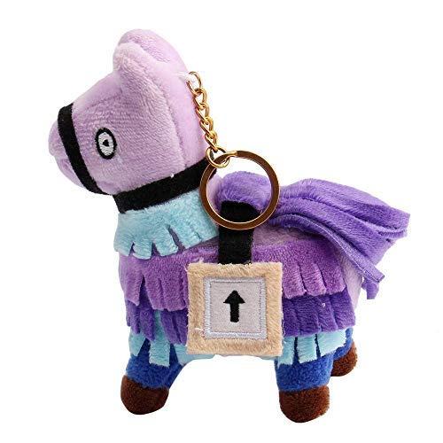 FUNNY CARD Troll Stash Llama Plush Toy Stuffed Doll Game Dolls Gift Toys (10 cm) ()