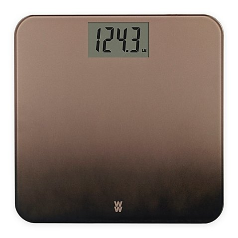 Weight Watchers® Decorative Ombre Finish Scale (Bathroom Scale Bronze)