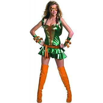 Deluxe Sassy Michelangelo Costume - Medium - Dress Size 8-10