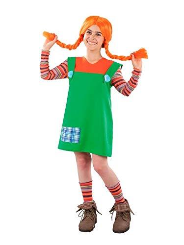 DISBACANAL Disfraz de Pipi para niña - Único, 10 años: Amazon.es: Juguetes y juegos