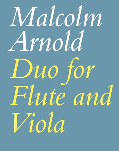 Duo for Flute and Viola, Op. 10: Playing Score (Faber Edition)
